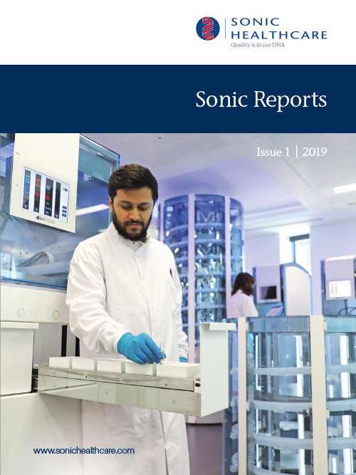 Sonic Reports - Issue 1 cover